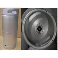 China 20L US SS Beer Keg , Slim Beer Kegs For Brewing / Beverage And Storage wholesale