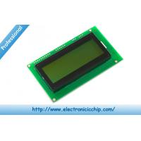 China Serial Enabled Character LCD Display 20x4 LCD - Black on Green 5V Display wholesale