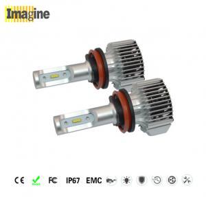 72W 6000k 4000lm H8 LED Headlight Bulbs 11-30V DC 5000 Hours Life Span