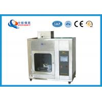 China IEC 60695 Stainless Steel Needle Flame Testing Equipment / Pin Flame Test Chamber wholesale