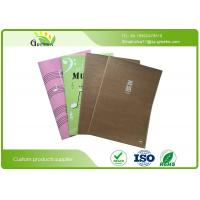 Eco Friendly Stationery Printed Bespoke Exercise Books With Kraft Paper Cover