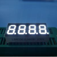 China Ultra White 0.36 Common Cathode 7 Segment Display For Humidity Indicator wholesale