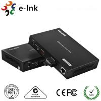 China 1 Channel HDMI Over Fiber Optic Extender  with 1 Channel 10 / 100M Ethernet wholesale
