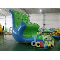 China Sea Pool Giant inflatable Water Toys Float Aqua Rock Slide / Climbing Combo wholesale