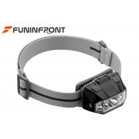 China 3 AAA Powered Outdoor LED Headlamp , 5 Gears Touch Sensor LED Bicycle Headlight wholesale