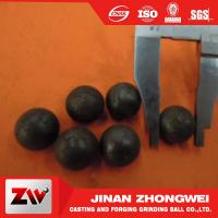 China ISO9001 2008 Hot rolling steel balls for ball mill for cement , Mine and power plant wholesale
