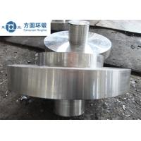 China C45 Carbon Steel Hot Rolled  / Hot Forged Ring Normalizing for Gears wholesale