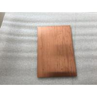 China Lightweight Copper Composite Panel 600mm Width Fire Resistance With High Strength wholesale