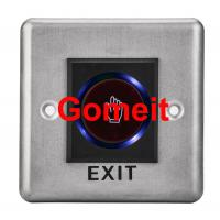 China Infrared Stainless Steel Door Access Push Button wholesale