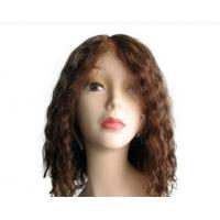 China Tangle Free remy Full Lace Human Hair Wigs Glueless  /  long full lace wigs on sale