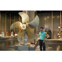 China Marine Controllable Pitch Bronze Propeller / Stainless Steel Marine Propeller wholesale