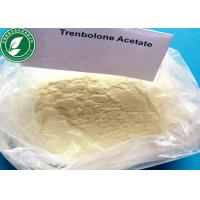 China 99% Purity Injectable Pale Yellow Steroid Powder Trenbolone Acetate For Fat Loss wholesale