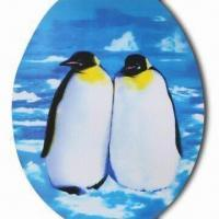 China 3-D Sticker, Penguin Design, Sticker on the Seat , Made of Recycled PP with UV Offset Printing wholesale