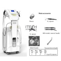 China Multifunctional Oxygen Facial Machine , Oxygen Jet Peel System For Skin Tightening Equipment on sale