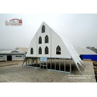 China Wedding Party Marquee / Clear Span Church Tents with Glass Walling System for Ceremony wholesale