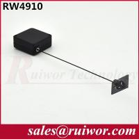 China Purchase Security Retractable Steel Cable ReelWith Adhesive ABS Plate / Stop Function wholesale