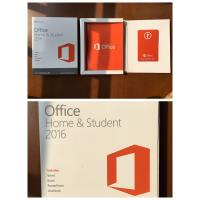 China wholesale  Office 2016 home student    product key card (PKC) BOX WITH DVD wholesale