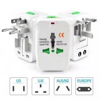 China Universal Wall Power Plug Adapter AC Power AU UK US EU Plug Adapter for Plug Surge Protector Universal International wholesale