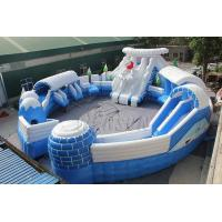 China Huge Commercial Inflatable Water Park , Frozen Themed Aqua Park Equipment on sale