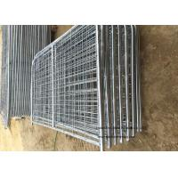 China 8ft -16ft Galvanized Metal Temporary Farm Fencing For Livestock Protection wholesale