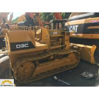 China New Paint Open Cabin Secondhand Mini bulldozer Cat D3C available for sale wholesale