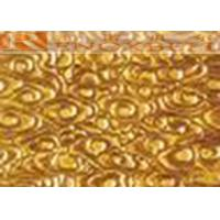 Quality Golden Shine Aluminum Architectural Panels  For Curtain Wall Decoration for sale