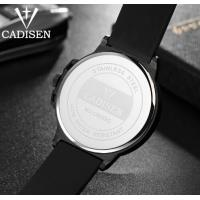 Quality Cadisen Creative Fashion Silicone Strap Waterproof 30m Remarkable Dial Quartz Wrist Watch 9059 for sale