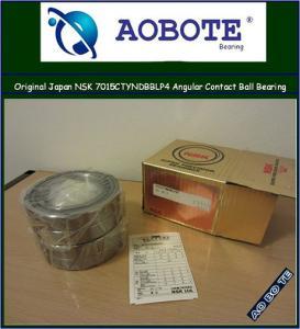 China Original Japan NSK 7015DBBL P4Y Angular Contact Ball Bearing wholesale