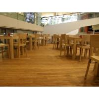 China Birch Stained Color Handcraped flooring wholesale
