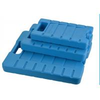 China Reusable 3 Refreezable Ice Packs For Lunch Box Solid Blue wholesale