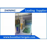 China 3-6m Boom Barrier Gate / Parking Lot Swing GatesWith IC Card Read System wholesale
