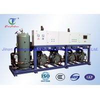 China Carrier High Teperature Reciprocating Cold Room Compressor Unit Parallel wholesale