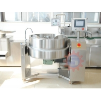 Quality Khoya jacketed kettle with mixer Steam jacketed kettle with mixer jacketed kettle with mixer for sale