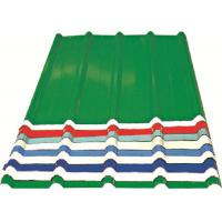 China Red/ Blue/ White Corrugated Metal Sheets , Recyclable Steel Sheets - Roof/Wall wholesale