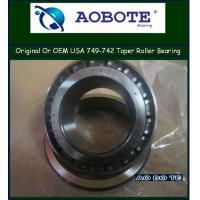 China Automotive Engineering Tapered Roller Bearing , Origin USA Timken749 / 742 wholesale
