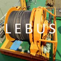 China Hydraulic Marine Offshore Platform Or Drilling Rig Boat Towing Winch wholesale