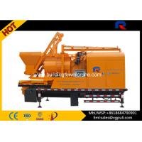China Portable Cement Pump Truck , Cement Mixing Truck 5.5kw Hoist Motor wholesale