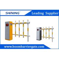 China 30m Remote Control Fence Arm Boom Barrier Gate For Toll Booth Management System wholesale