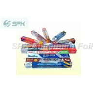 China Soft Barbeque / Baking Pop Up Aluminum Foil Sheets In Color Box wholesale