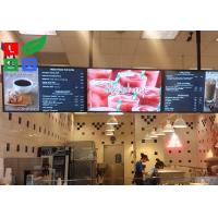 China 42 Inch LCD Advertising Display Monitor WiFi Control For Shop Menu Image Display wholesale