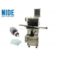 China Auto rotor armature insulation paper insertion machine , Shaft O.D 3~17mm wholesale