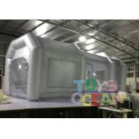 China 6x3x3m Advertising Inflatables Spray Booth Grey Color For Car Painting Use wholesale
