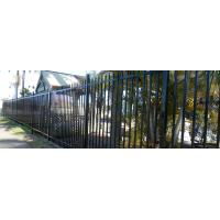 China Australia Security Commerical Garrison Fence Panel galvanised steel palisade fencing wholesale
