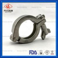 China Welded  Sanitary Clamp Fittings Quick Install  3A DIN Standard Approved wholesale