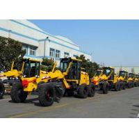 China Operating Weight 11200 Kg Compact Motor Grader With Cummins Engine Rated Power 100 Kw wholesale