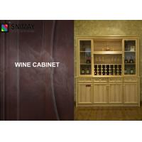 Large Contemporary Wine Cabinet With Glass Door For Living Room Of Item 10131