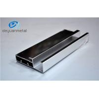 China Silver Polishing Standard Aluminum Extrusion Profiles For House Decoration wholesale