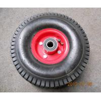 Quality High Quality 4PR Turf Pattern Rubber Wheel (4.10/3.50-4) for sale