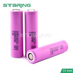 China Original Samsung 30Q INR 18650 3000mAh 3.6V rechargeable ecig mod, Samsung 18650 30Q battery wholesale