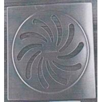 China Export Europe America Stainless Steel Floor Drain Cover4 With Square (150.8mm*150.8mm*3mm) wholesale